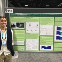 Emily Fedders, Outstanding Student Presentation awardee at AGU