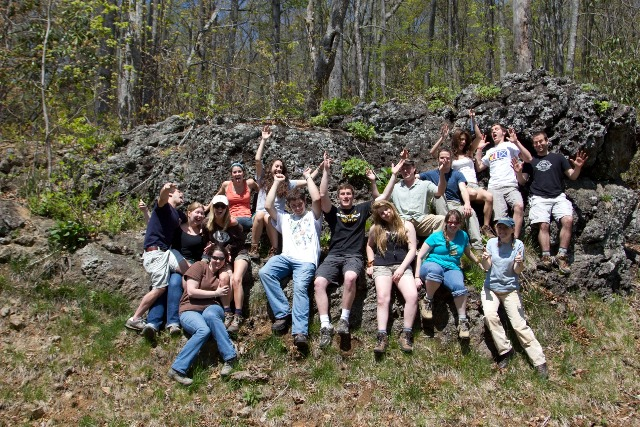 students in Ashe County