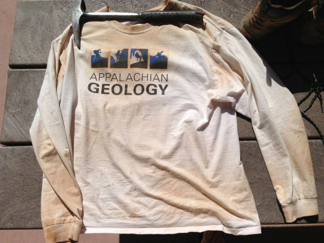 Grubby Appalachian Geological Society T shirt