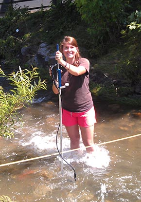 hydrogeology field research student
