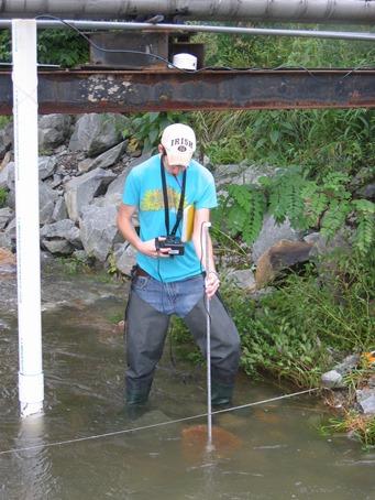 hydrogeology student