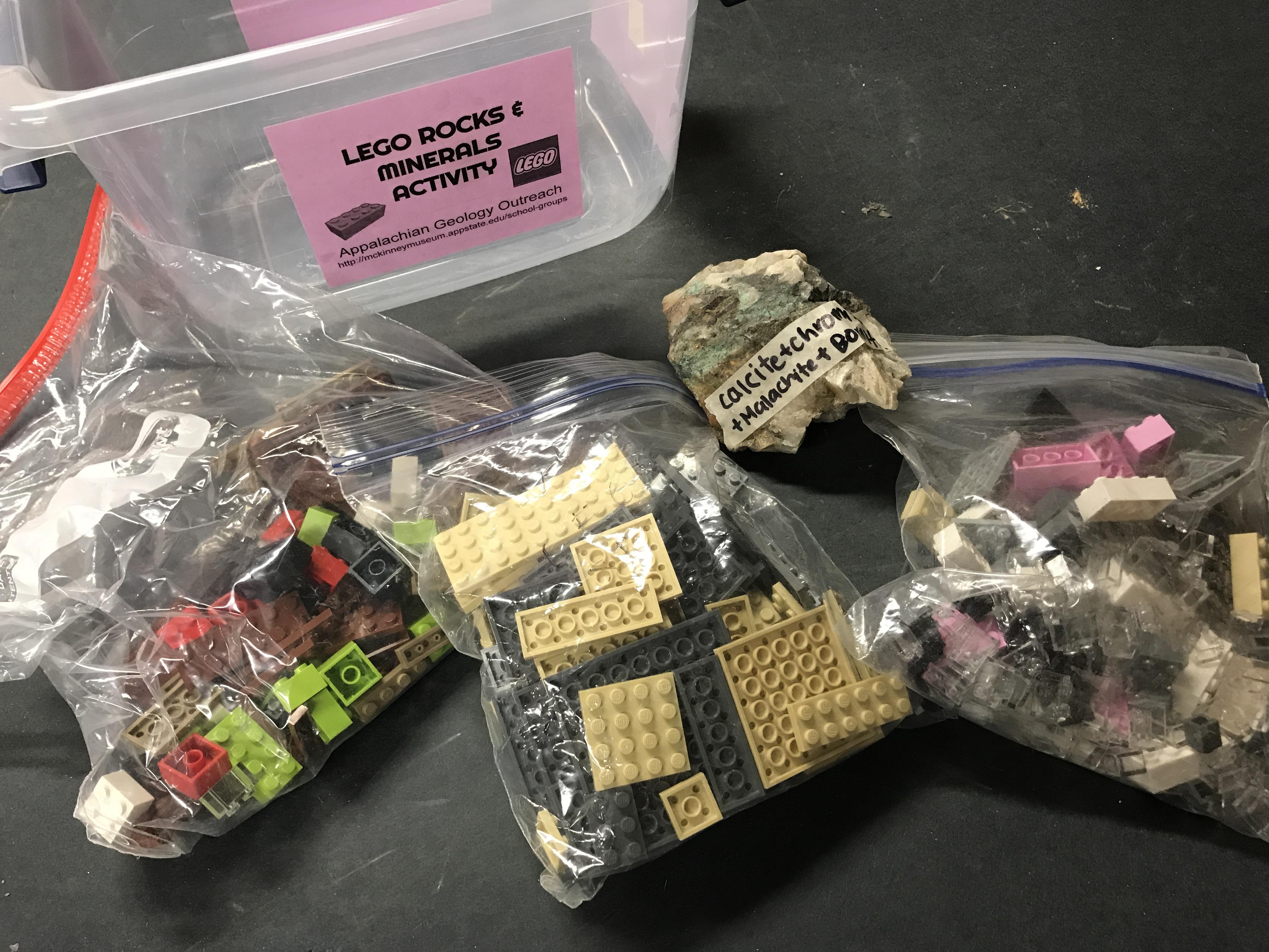 Lego Geology Activity