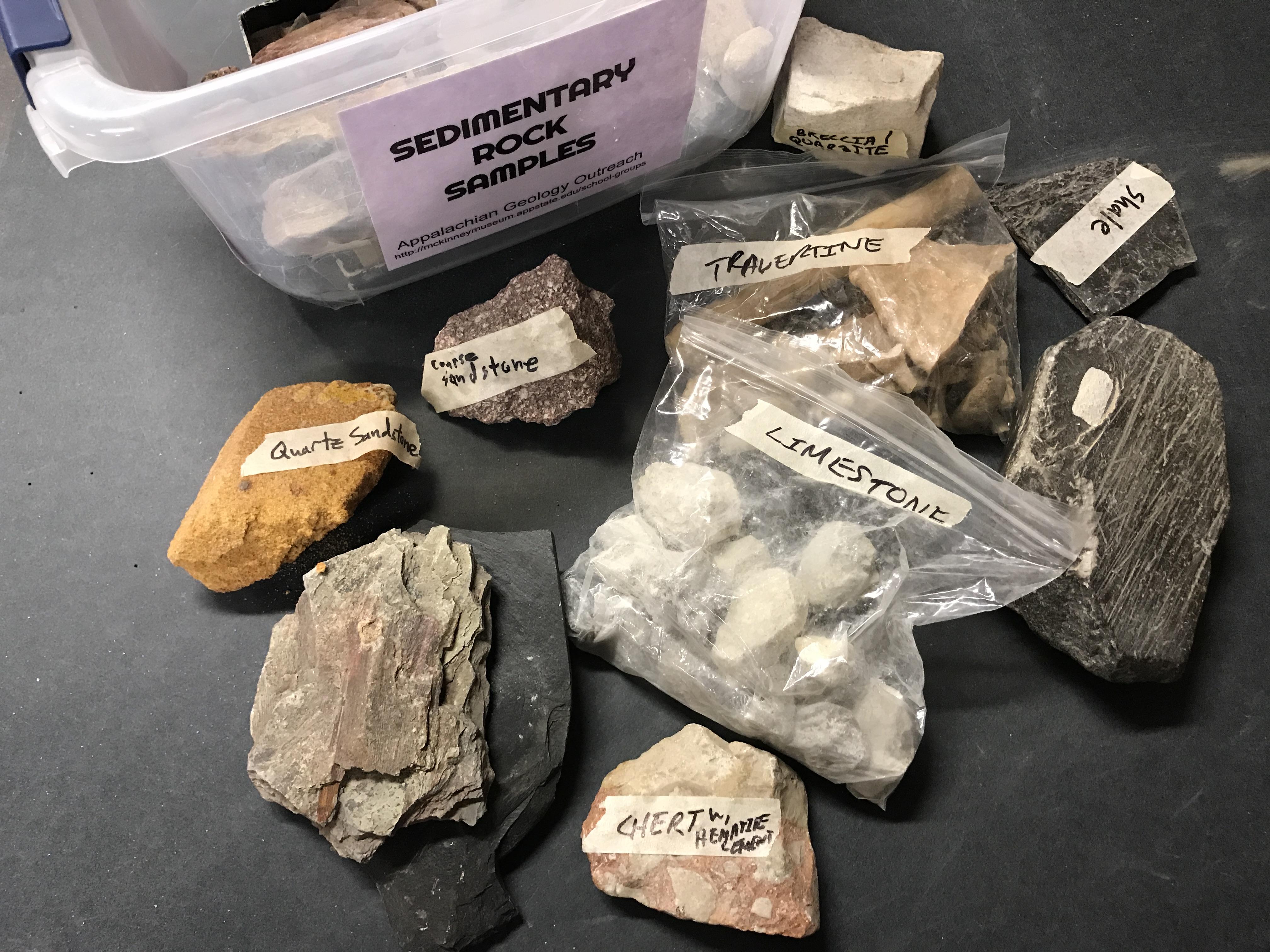 Sedimentary Rock Samples