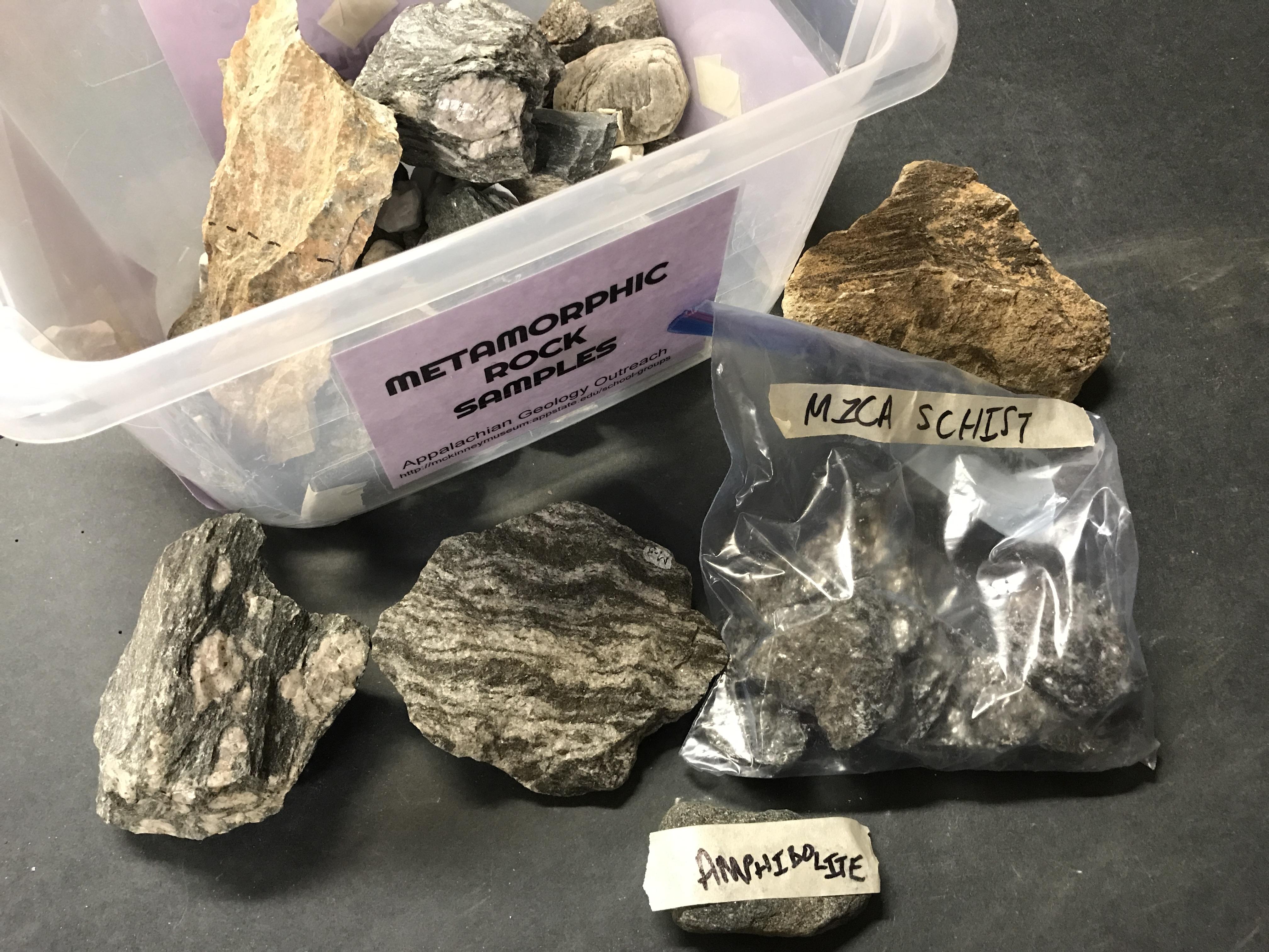 Metamorphic Rock Samples