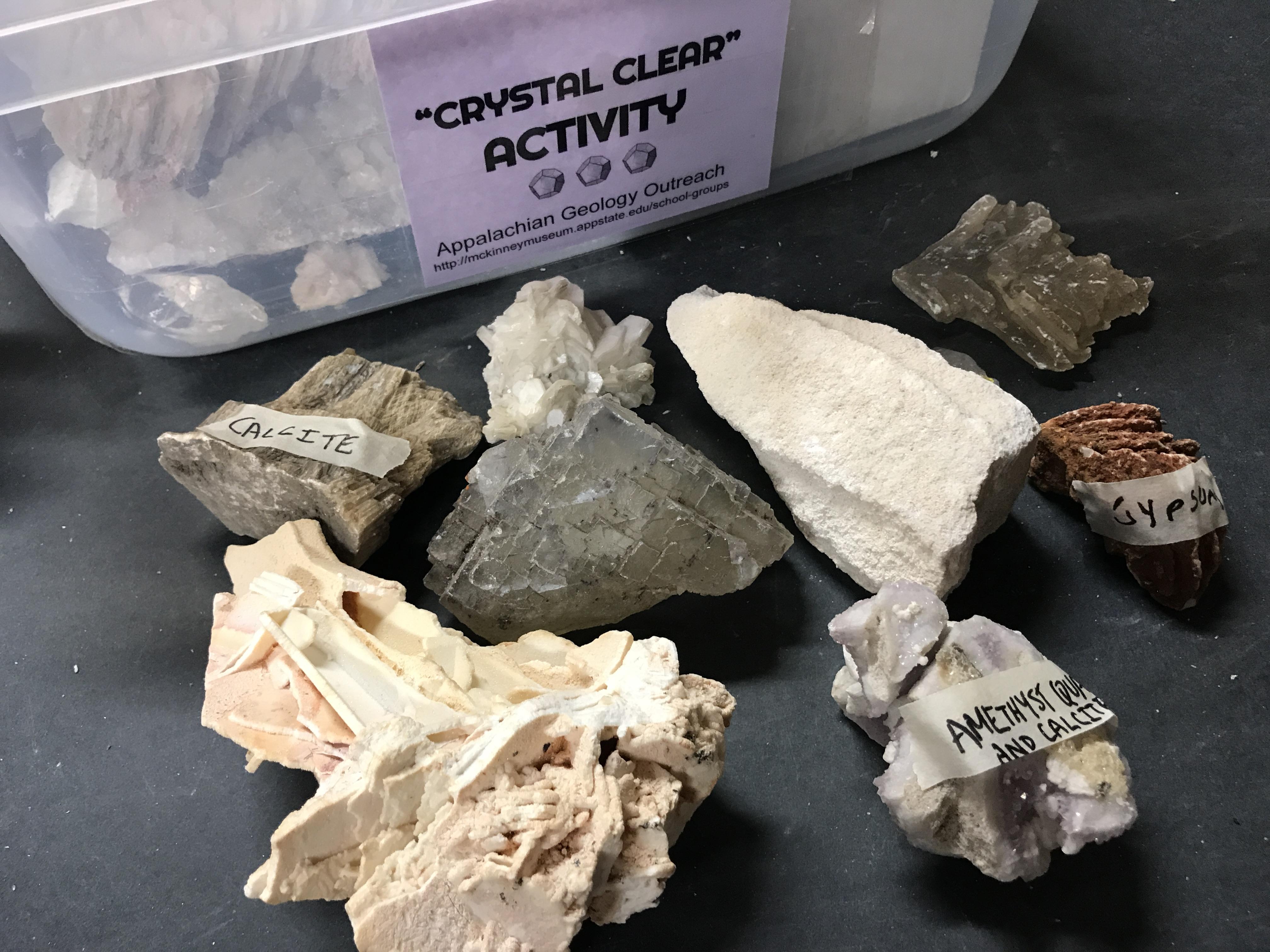 """""""Crystal Clear"""" Activity"""