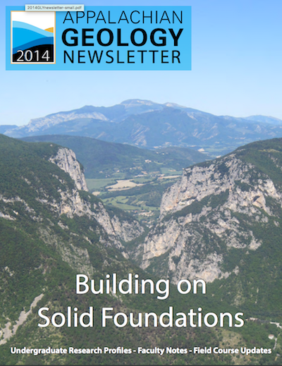 2014 newsletter cover