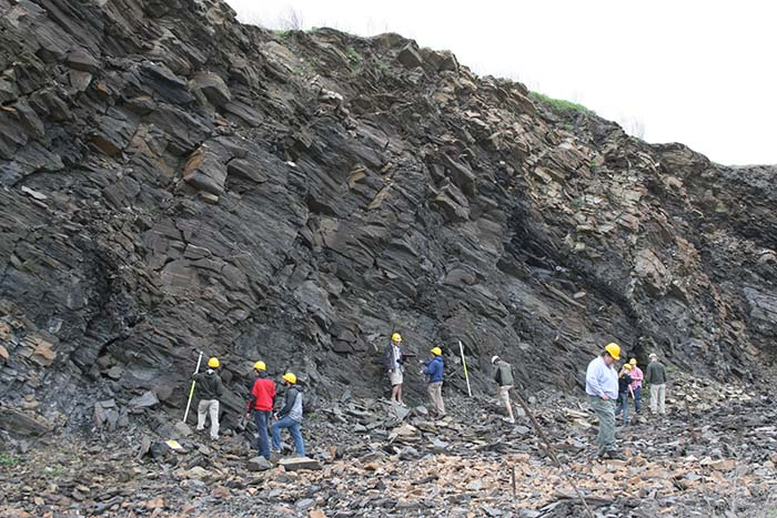 class at solite quarry