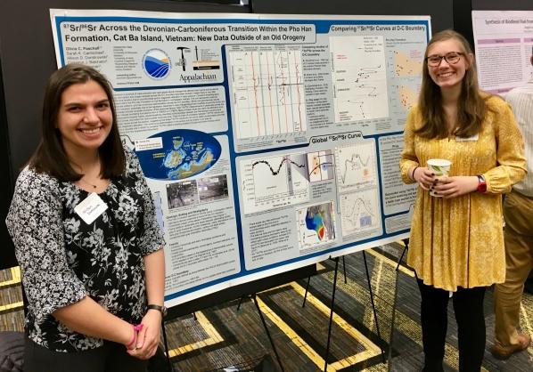 Olivia Paschall and Allison Dombrowski