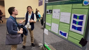 Emily presenting her research