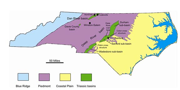 NC Triassic basins
